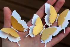 Butterflies Wedding Table Decoration / Bridal Shower/Party Decoration/Wall decor by EmiliaPaperie on Etsy