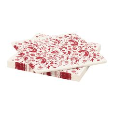 IKEA - VINTER 2016, Paper napkin, The napkin is highly absorbent because it's made of three-ply paper.