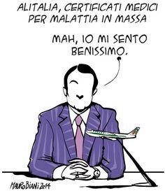 Mauro Biani - il manifesto 8 agosto 2014
