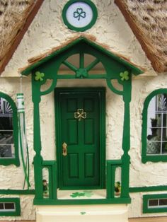 """miniature """"Charming Irish Cottage"""" ~ loving this beautiful work of art and its…                                                                                                                                                                                 More"""