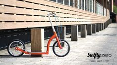SwiftyZERO-mk2 Lightest and Strongest adult scooter - for urban commuting and leisure
