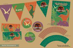 festa de dinossauro convite - Pesquisa Google