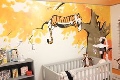 Calvin and Hobbes wall border Calvin and Hobbes Pinterest