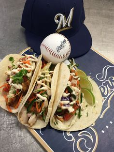 Baja fish tacos for the Padres series! #Brewers