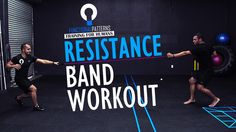 Partner Resistance Band Core Exercise Routine