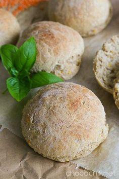Vegan Vegetarian, Vegetarian Recipes, Scones, Bread Recipes, Hamburger, Rolls, Drink, Baking, Vegetarische Rezepte