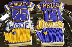 UW Husky Cookies. Sankey Jersey. Price Jersey.