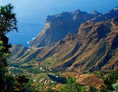 Mirador de Arure, La Gomera, Canary Islands, SPAIN