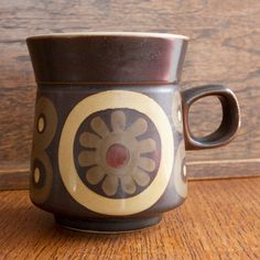 Denby. Arabesque. 1962-63. Mug, love the handle!