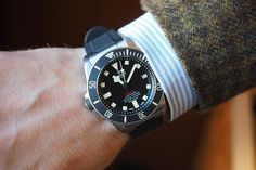 Tudor's latest is all about the lefties. Best Watches For Men, Luxury Watches For Men, Cool Watches, Tudor Pelagos, Rolex Tudor, Dream Watches, Expensive Watches, Seiko Watches, Left Handed
