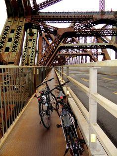 Québec en vélo, road trip au Québec  Pont de Québec
