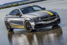 Mercedes brengt de nieuwe C63 AMG Coupé ook als Edition 1
