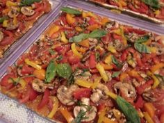 Making Pizza and 2 Fabulous Raw Pizza Crust Recipes