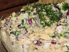 Sałatka wielkanocna z brokułem - Przepisy kulinarne - Sałatki Potato Salad, Potatoes, Ethnic Recipes, Food, Potato, Essen, Meals, Yemek, Eten
