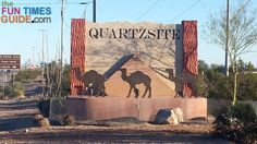 Each year half a million RV snowbirds head to Quartzsite AZ. With ongoing activities and plenty to see & do many park for months in the desert: free camping