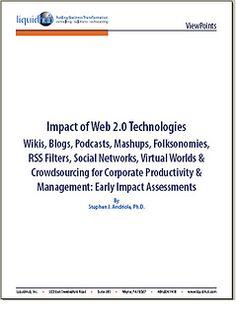 Impacto de las tecnologías 2.0: wikis, blogs, podcasts, folcsonomías, mashups, redes sociales, mundos virtuales, canales RSS y crowdsourcing | Universo Abierto