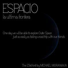 Espacio Font | dafont.com