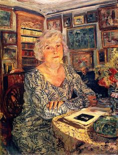 Lucy Hessel Reading - Edouard Vuillard, 1924
