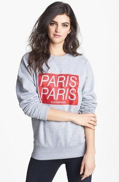 ELEVENPARIS 'Paris Titan' Sweatshirt available at #Nordstrom