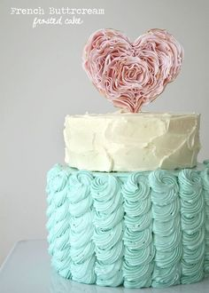 French Buttercream Frosted Cake