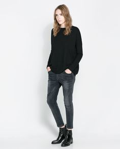 Image 1 of BASIC LONG SWEATER from Zara