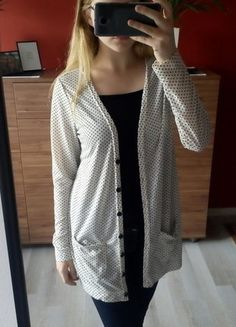 Kup mój przedmiot na #vintedpl http://www.vinted.pl/damska-odziez/kardigany/15294543-lekki-cienki-kardigan-w-kropki