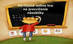 Perfektná online hra na zopakovanie násobilky - Nasedeticky. Family Guy, Classroom, Baseball Cards, Fictional Characters, Math Resources, Class Room, Fantasy Characters, Griffins