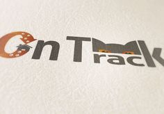 On Track Logo Mock Up - Print