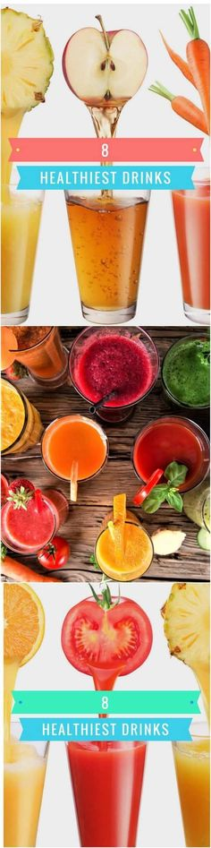 8 Healthyest Drinks In The World