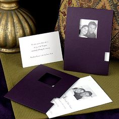 wedding-invitations with photo
