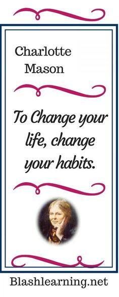 Good habits make life run smoother. Charlotte Mason taught that good habits make life easier. Philosophy Of Education, Life Run, Christian Families, Online Tutoring, Charlotte Mason, Good Habits, Good Advice, Words Quotes, Sayings