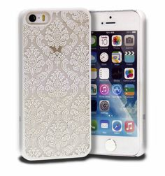 Damask Vintage Pattern Rubber Protector Hard Case Cover for Apple iPhone 5S 5 | eBay