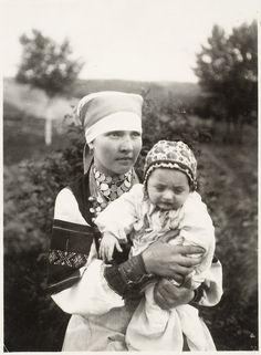 ERM Fk 350:220 Setumaa, Obinitsa. Ema lapsega 1922. a.