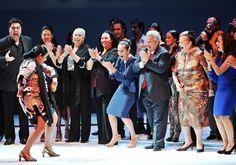 Fin de fiesta de la gala de clausura de la Bienal de Flamenco de Sevilla. Foto: Antonio Acedo.