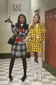 "'""Clueless"" photo shoot featuring Alice Eve and Naomie Harris. Credit: Greg Williams"