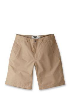 Mountain Khakis Khaki Mens Poplin Short Slim Fit