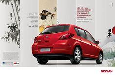 Não dá pra discutir design com um povo que desenha até na hora de escrever. Nissan Tiida