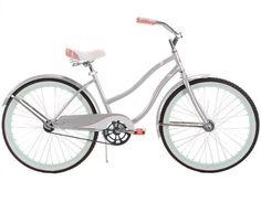 24 Inch Huffy Girls' Cranbrook™ Cruiser Bike, Silver
