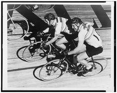 Velodrome, track racing, vintage