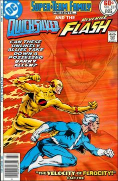 Super-Team Family: The Lost Issues!: Quicksilver and The Reverse Flash Marvel Comic Books, Comic Book Heroes, Marvel Characters, Comic Books Art, Flash Comics, Dc Comics Art, Marvel Vs, Marvel Dc Comics, Looney Tunes