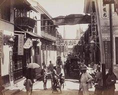 King Road, Canton, China, 1890s