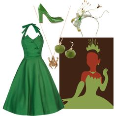 """""""Tiana Inspired"""" by magicalrainbowbook on Polyvore"""