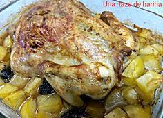 Una taza de harina: Pollo asado