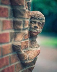 Unusual Sculptures Carved Entirely Out Of Bricks - by North Carolina-based sculptor Brad Spencer | via DesignTAXI.com