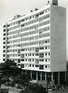 Edifício Anchieta, inaugurado em 1941, projeto MMM Roberto