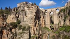 The not-so-new Puente Nuevo, Ronda, Spain - Happenence Ronda Malaga, Dog Barking, Time Out, Barcelona Cathedral, Mount Rushmore, Ronda Spain, City, Water, Travel