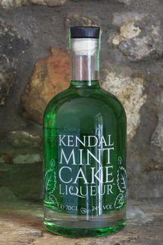 Kendal Mint Cake Liquer Bottle