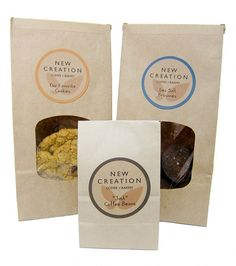 New Creation NYC Imagines a New Kind of Bakery #packaging #cookies #bakery #nyc #inwood