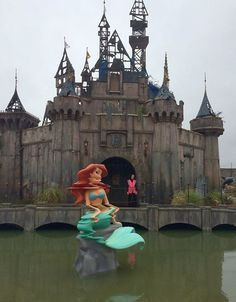 Banksy Opened A Theme Park, Of Course It's Called Dismaland