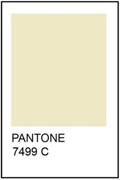 Pantone Cream Paint Card - there you go - that's the one you've been looking for.